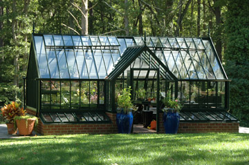 English Alitex Greenhouse/Conservatory.  Water, electrical, stereo sound system.