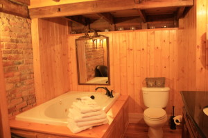 third floor bath and sauna