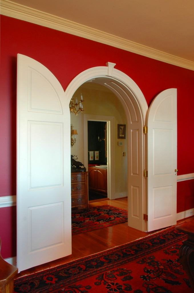 original house dining room closing doors