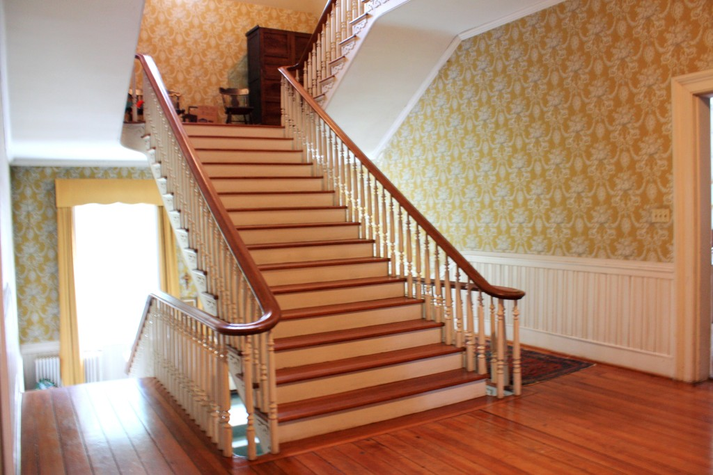 Staircase to third floor