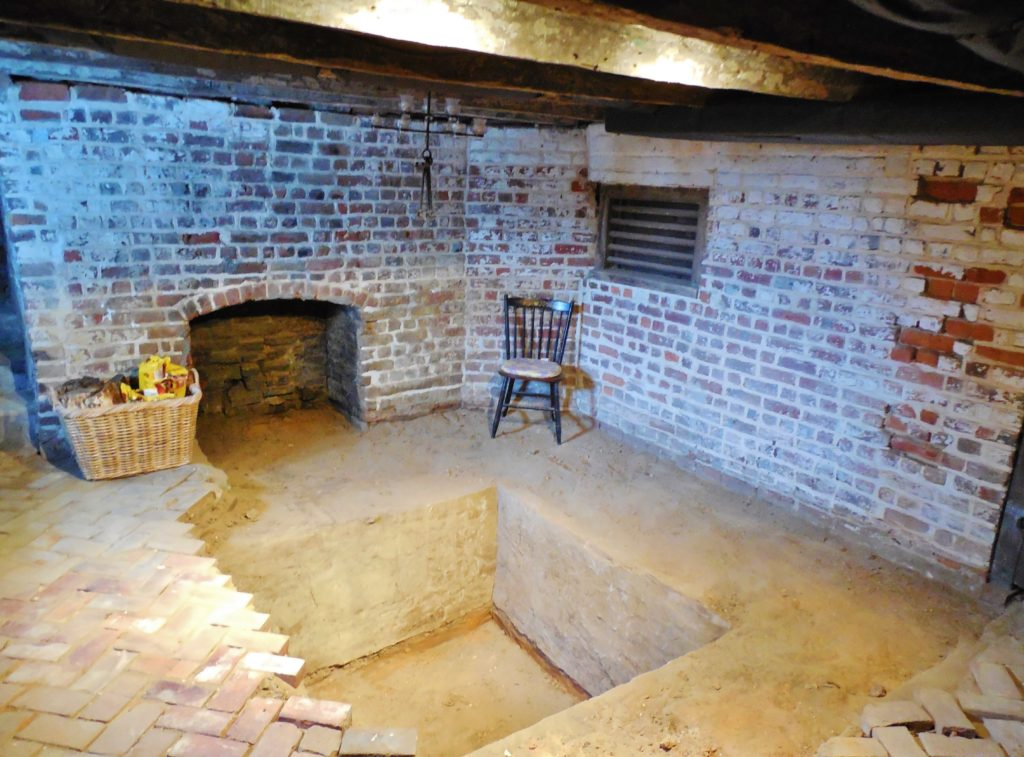 Sub-floor pit, excavated; Mahockney South Basement